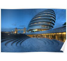 London City Hall Poster