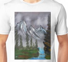 Mountain Landscape at Dawn Unisex T-Shirt