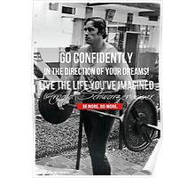 Go Confidently (Arnold) Poster