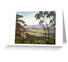 Cliff Drive, Blue Mountains NSW Greeting Card