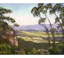 Cliff Drive, Blue Mountains NSW Photographic Print