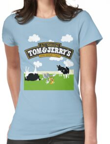 Tom & Jerry's Womens Fitted T-Shirt