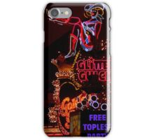Glitter Gulch (what happens in Vegas) iPhone Case/Skin