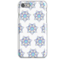 7 pointed spirograph 4 iPhone Case/Skin