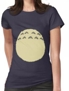 Sweet Neighbour Belly Womens Fitted T-Shirt