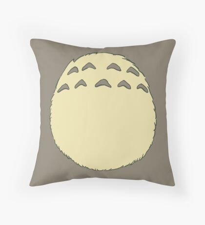 Sweet Neighbour Belly Throw Pillow