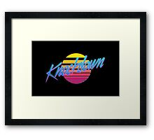 Knockdown Framed Print