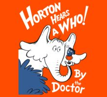 Horton Hears Doctor Who! by Jen Pauker
