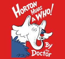 Horton Hears Doctor Who! Baby Tee