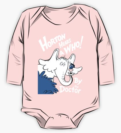 Horton Hears Doctor Who! One Piece - Long Sleeve