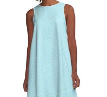 Pea Shoots A-Line Dress