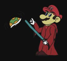 Jedi Mario by Charles Caldwell