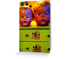 Two Heads Are Better Greeting Card