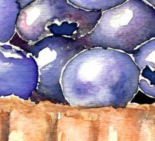 Blueberry Tart Sticker