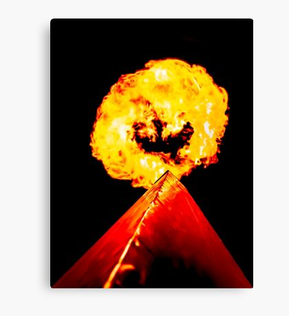 Phoenix Flame Tower Canvas Print