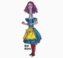 Ask Alice - Alice in wonderland Kids Clothes