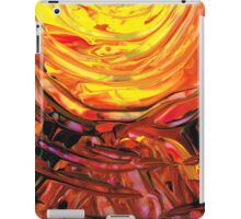 Colorful Abstract Art - Halfway Around The Sun - Sharon Cummings iPad Case/Skin