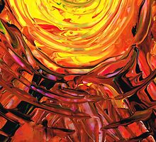 Colorful Abstract Art - Halfway Around The Sun - Sharon Cummings by Sharon Cummings