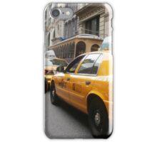 Taxi ride through NoHo iPhone Case/Skin