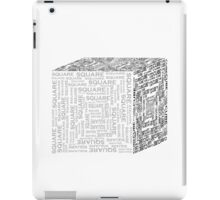 Square|Cube iPad Case/Skin