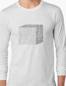 Square Cube Long Sleeve T-Shirt