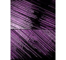 Line Art - The Scratch, pink/purple Photographic Print