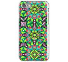 Colorful Psychedelic Trippy Funky Pattern iPhone Case/Skin