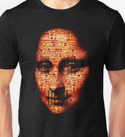 monalisa logorrhea Unisex T-Shirt