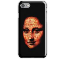 monalisa logorrhea iPhone Case/Skin