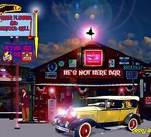 He's Not Here Bar by Mike Pesseackey (crimsontideguy)