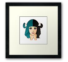 Melanie Martinez Cartoon Framed Print