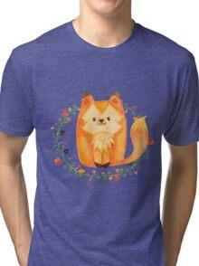 Cute little fox Tri-blend T-Shirt