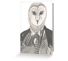 Doctor Whoot Greeting Card