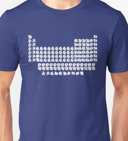 Cat Periodic Table T-Shirt