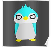 Thug Penguin Poster