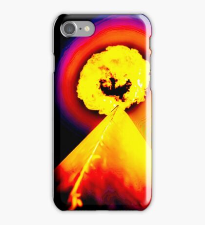 Phoenix Flame Rainbow iPhone Case/Skin