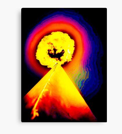 Phoenix Flame Rainbow Canvas Print