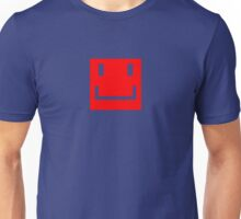 THE Red Smiley Face Unisex T-Shirt