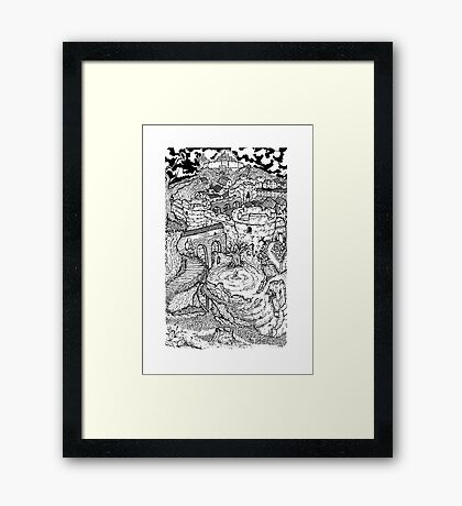 """""""Memories of a Lost Land"""" - DS Framed Print"""