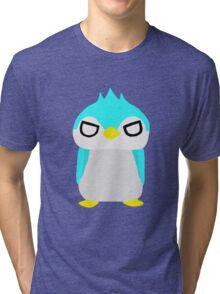 Thug Penguin Tri-blend T-Shirt