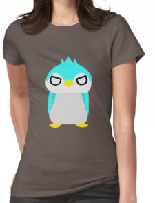 Thug Penguin Womens Fitted T-Shirt