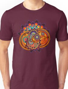 Colorful Trippy Funky Abstract Jazz Pattern Unisex T-Shirt