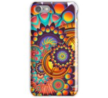 Colorful Trippy Funky Abstract Jazz Pattern iPhone Case/Skin