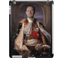 The Current King Of England- Mycroft Holmes iPad Case/Skin