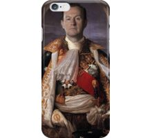 The Current King Of England- Mycroft Holmes iPhone Case/Skin
