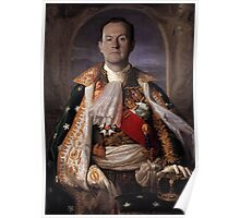 The Current King Of England- Mycroft Holmes Poster