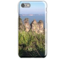 Three Sisters, Blue Mountains, Australia iPhone Case/Skin