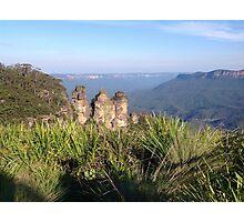 Three Sisters, Blue Mountains, Australia Photographic Print