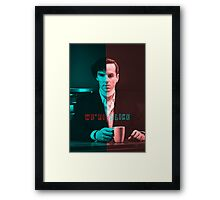 We're Just Alike Framed Print