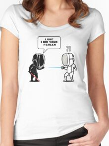 Luke.. I Am Your Fencer Women's Fitted Scoop T-Shirt